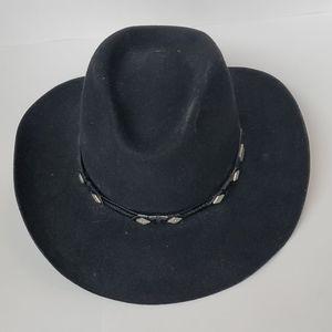 Vintage Wrangler Fur Cowboy Hat